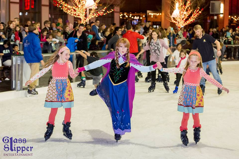 Avalon Tree Lighting Event | Atlanta Princess Party